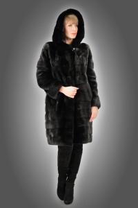 Cappottino visone black